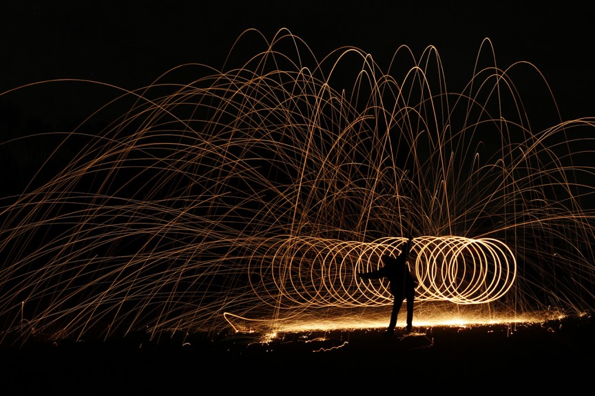 Lightpainting - Bert Lammers