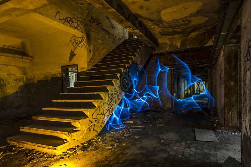 Lightpainting - Steven Langewouters